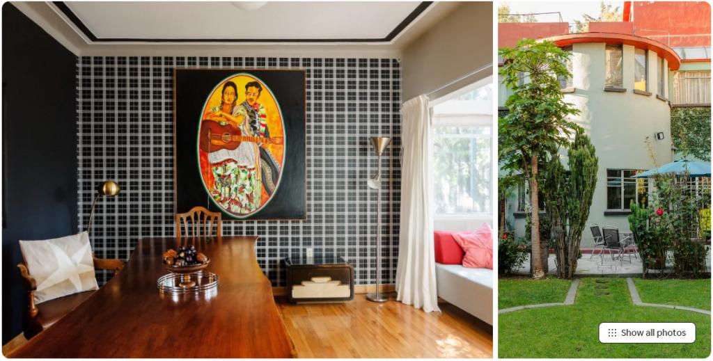 Elegant Art Deco Home with Garden in Condesa