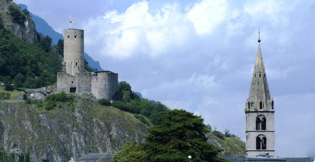 Martigny Château de la Bâtiaz