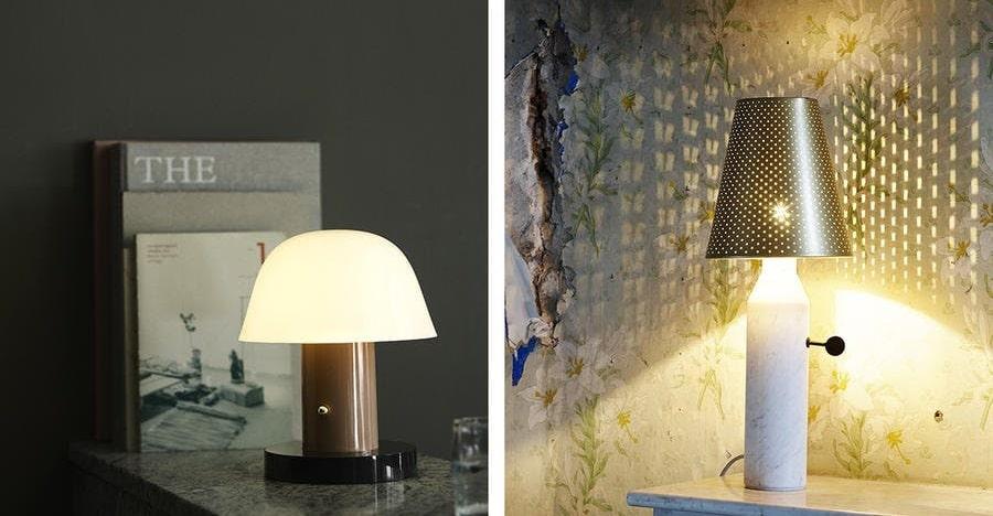 lampe de chevet airbnb