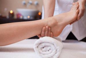 Massage à domicile pieds